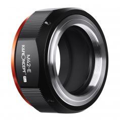 K&F M10115  M42-NEX PRO,New in 2020 high precision lens adapter (orange)