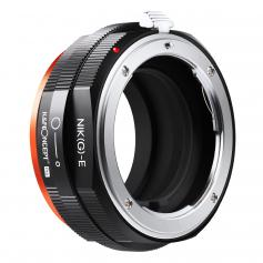 Lens Mount Adapter, G Mount F/AI/G Lens to E-Mount/NEX Camera Body Mount Adapter with Matting Varnish Design