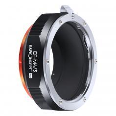 K&F M12125 Canon EOS-M4/3 PRO, New in 2020 high precision lens adapter (orange)