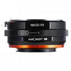 K&F M18115  Nikon NIK(G)-FX PRO,New in 2020 high precision lens adapter (orange)