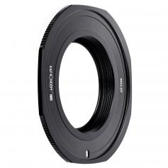 Anel adaptador de lente de alta precisão KF M10135, revestido com tinta fosca, laranja de oxidação secundária, M42-EOS PRO