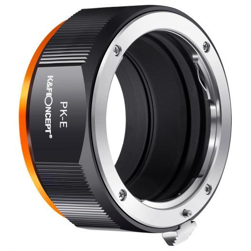 M17105 PK-NEX High Precision Lens Adapter (Orange)