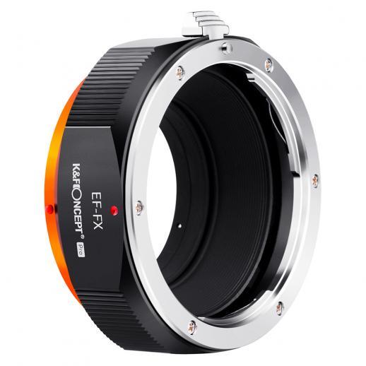 K&F M12115 EOS-FX PRO,New in 2020 high precision lens adapter (orange)