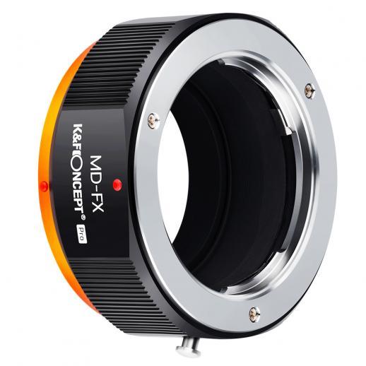 KF M15115高精度レンズアダプターリング、マットペイント、二次酸化オレンジ、MD-FX PRO