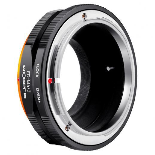 K&F M13125 FD-M4/3 PRO,New in 2020 high precision lens adapter (orange)