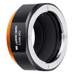 KF M16125 20-year high-precision lens adapter ring, coated with matt paint, secondary oxidation orange, OM-M4/3