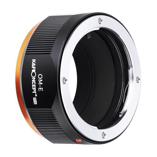 KF M16105高精度レンズアダプターリング、マットペイント、二次酸化オレンジ、OM-NEXでコーティング