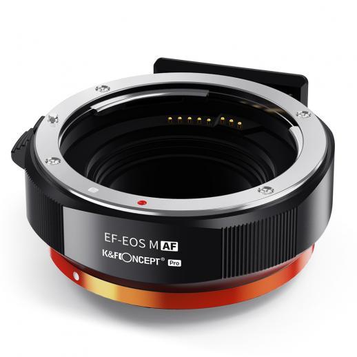 Canon EF / EF-SからEOSMマウント、金属はオートフォーカスできます