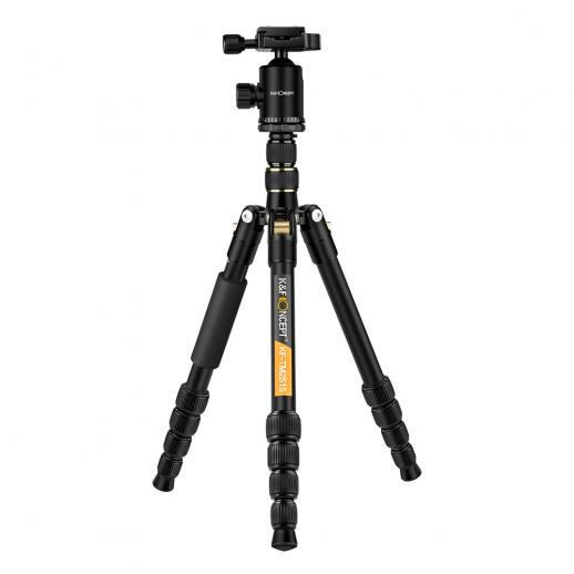 TM2515 Aluminum Tripod Monopod for DSLR Camera 60 inch 5 Sections