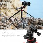 TM2534T Professional Tripod Monopod for DSLR Camera 72 Inch Aluminium 4 Section 360 Degree Ball Head