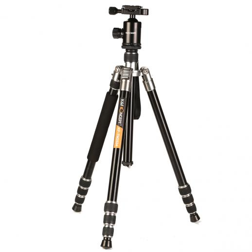 TM2534 Silver DSLR Camera Tripod Monopod Kit 65 inch fit Canon, Nikon Travel Photography