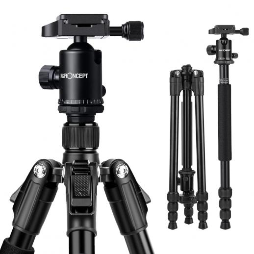 TM2534 DSLR Camera Tripod Monopod Kit fit Canon, Nikon
