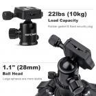 TM2534 DSLR Camera Tripod Monopod Kit 65inch fit Canon, Nikon Travel Photography