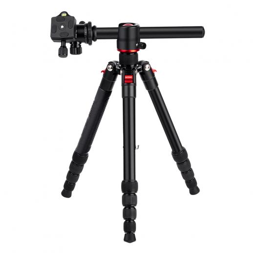 K&F TM2515T Camera Tripod Monopod Kit 60inch for DSLR Cameras