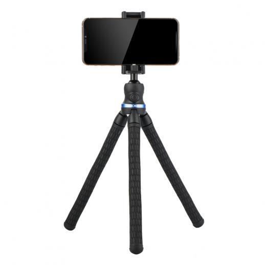 Mini Tripé Flexível para Celular, Câmera, Vídeo