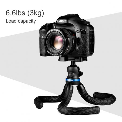 Mini Flexible Tripod for Cellphone, Camera, Video