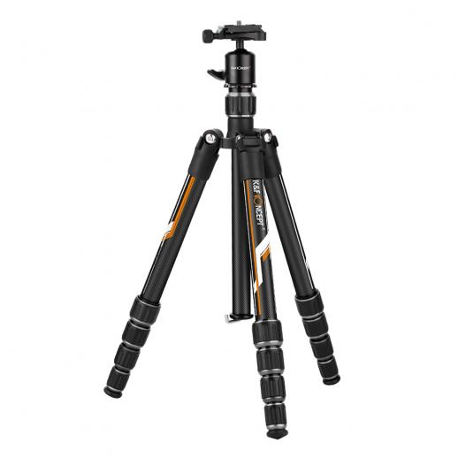 TC2335 (Orange) Carbon Tripod Lightweight Portable for Travel Photography