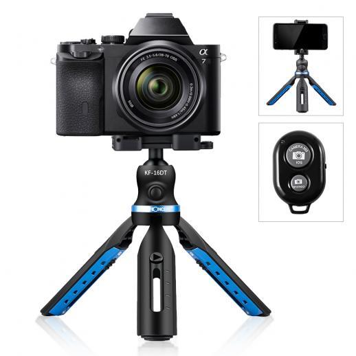 携帯電話、スマートフォン、Gopro、ウェブカメラ、コンパクトカメラDSLRと互換性のあるミニ三脚携帯電話クリップホルダー