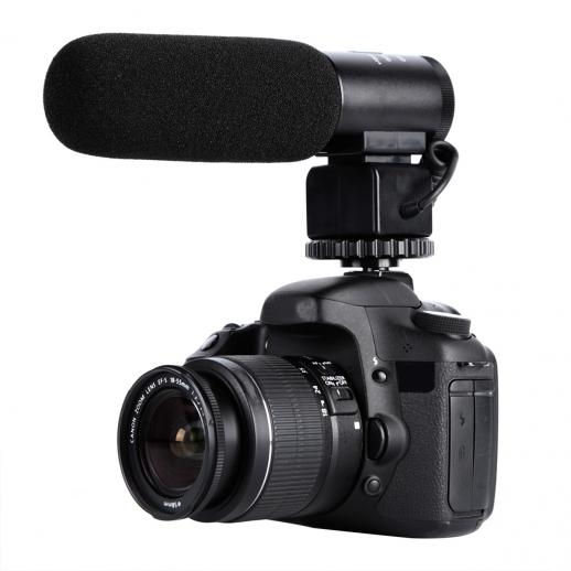 CM-500 Shotgun Microphone for DSLR Camera Video Photography
