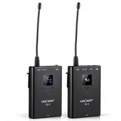 M9 Wireless Microphone Metal Shell Support SLR Cameras, Digital Cameras, Receivers, Android Smart Phones, Laptops, DV