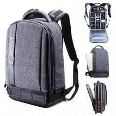 Large DSLR Camera Backpack for Travel Outdoor Photography fit Canon Nikon Cameras, 13.3'' Laptop,Tripod