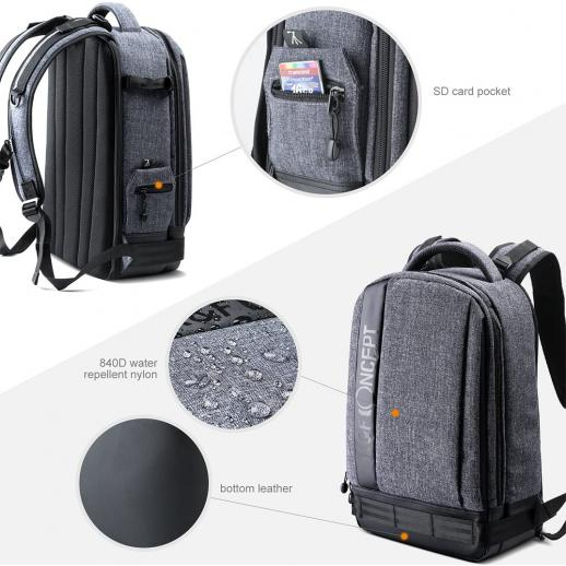 Large DSLR Camera Backpack for Travel Outdoor Photography fit Canon Nikon