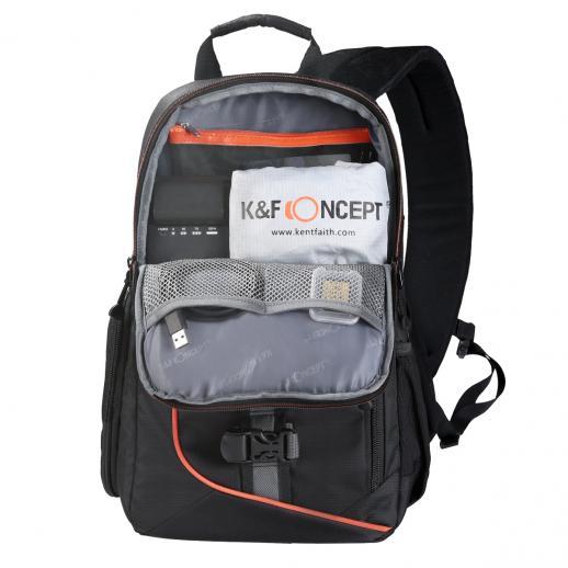Sling Camera Bag Mochila para Fotografia de Viagem 9.06 * 5.51 * 14.57 inches