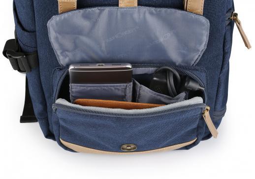 Mochila de Câmera DSLR para Viagens Fotografia Canon Nikon