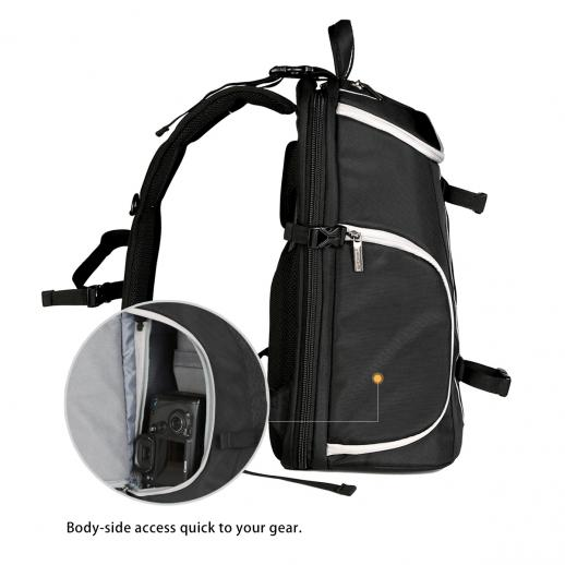 DSLR Camera Travel Backpack Waterproof 11.4*8.5*17.7 inches