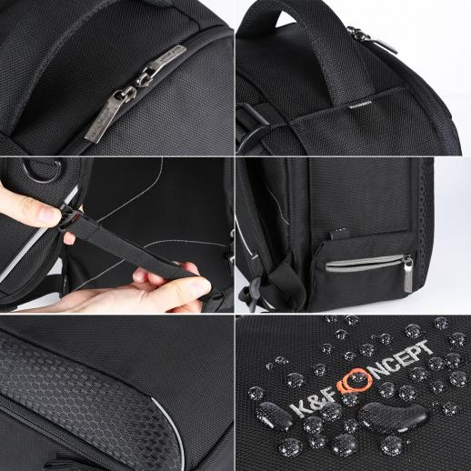 DSLR Camera Outdoor Travel Backpack 17.1*10.6*7.5 inches