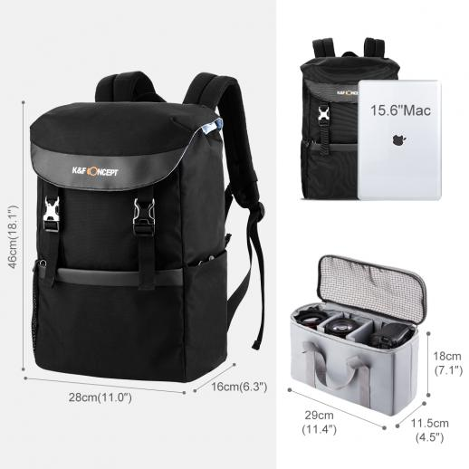 DSLR Camera Backpack for Canon Nikon etc 46*28*16cm