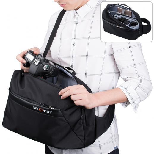Travel DSLR Sling Camera Backpack for Nikon Canon etc 27*13*41cm