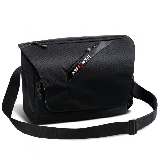 Compact Messenger Shoulder Bag for DSLR Camera 38*11.5*28cm