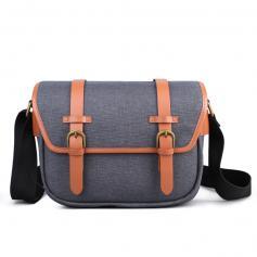 Compact Messenger Shoulder Bag for DSLR Camera 25*16*19cm