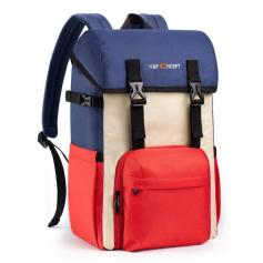 DSLR Camera Backpack Waterproof Camera Bag Multi-Functional for SLR/DSLR Camera, Lens and Accessories with Rain Cover