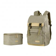 """Travel Camera Backpacks with Removable DSLR Case fit up to 15.6"""" Laptop - 18L"""