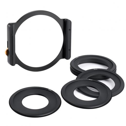 Square Filter Metal Holder + 7pcs Adapter Rings