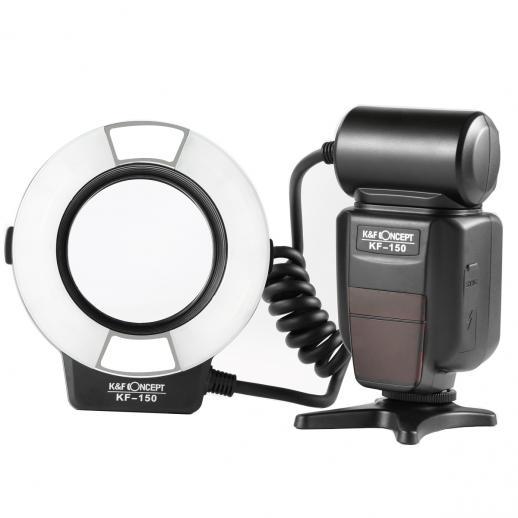 Ring Flash para Macro KF150TTL para Nikon