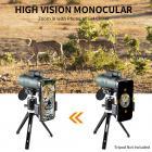 12 X 50 Monocular BaK-4 Waterproof for Outdoor Travel Watching