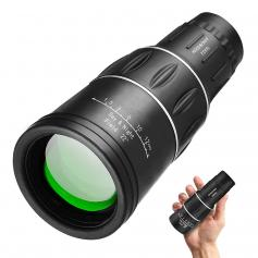 16x52 Monocular With Phone Holder & Tripod for Bird Watching Hunting Travel