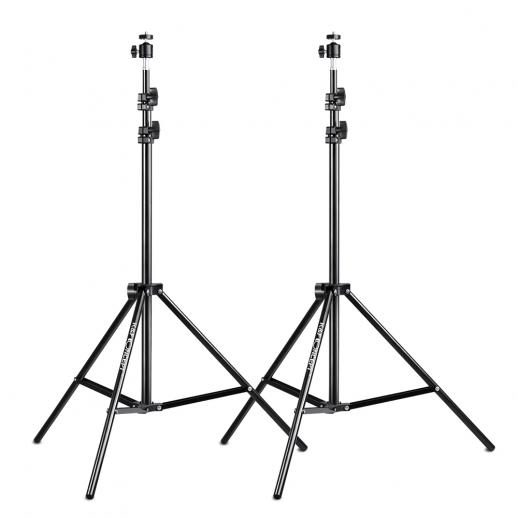 2X 78.8 inch Photography Light Stand Kit with Ball Head Hot Shoe for Video HTC Vive VR Reflector Softbox