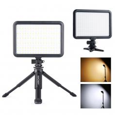 Camera Light LED Video Light Panel for Camera Camcorder Lighting in Studio or Outdoors 3200K to 5500K Variable Color Temperature