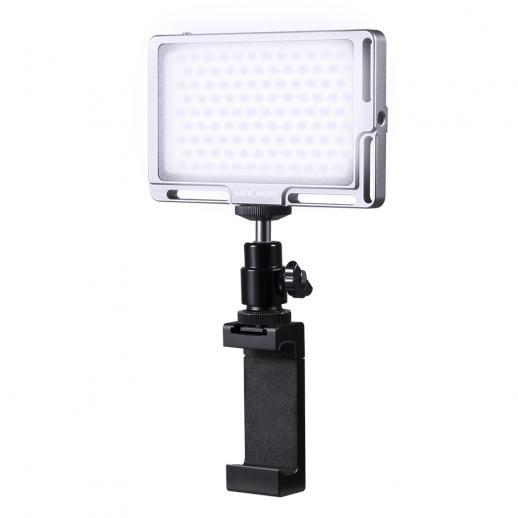 カメラ96用LEDビデオライトライブストリームYouTubeel CRI 96 Megnetic Bi用ビデオログフィル照明用調光可能なLED PanColor 3000K-6500K輝度