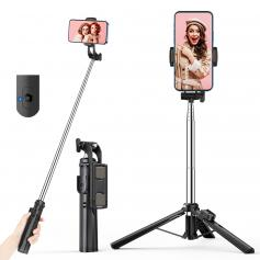 A31 0.8M Floor-standing Mobile Phone Holder with Bluetooth Remote Control