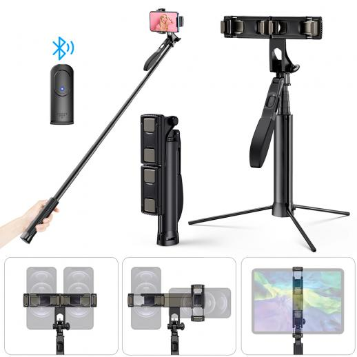 A200 1.1M Selfie Live Broadcast Mobile Stand with Remote Control
