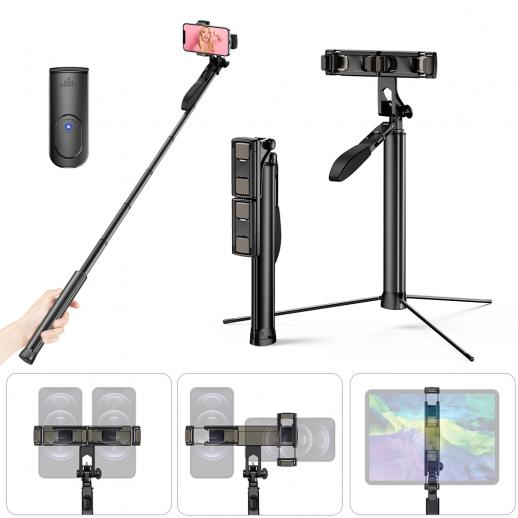 A200 1.7M Selfie Live Broadcast Mobile Stand with Remote Control