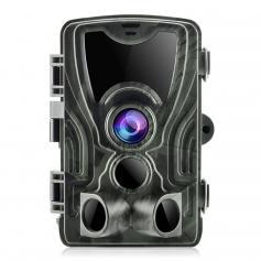 HC-801A 24MP 1080P Trail Camera 0.5s Trigger Speed Hunting 3 PIR HD Deer Camera Infrared Night Vision Game Camera