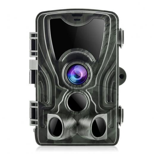 K&F HC-801A 16MP / 0.5秒トリガー/ 3 PIR HD屋外防水ハンティング赤外線ナイトビジョンカメラ