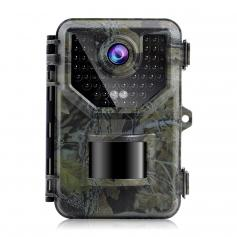 HB-E2 2.7K 20MP Trail Camera 0.2s Fast Trigger Speed IP66 Waterproof Sturdy Hunting Camera with 120° Wide Flash Range for Wildlife Monitoring