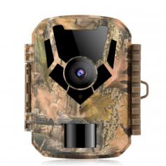 DL201 16MP 1080P Trail Camera 0.4s Trigger Time HD Outdoor Waterproof Hunting Infrared Night Vision Mini Game Camera
